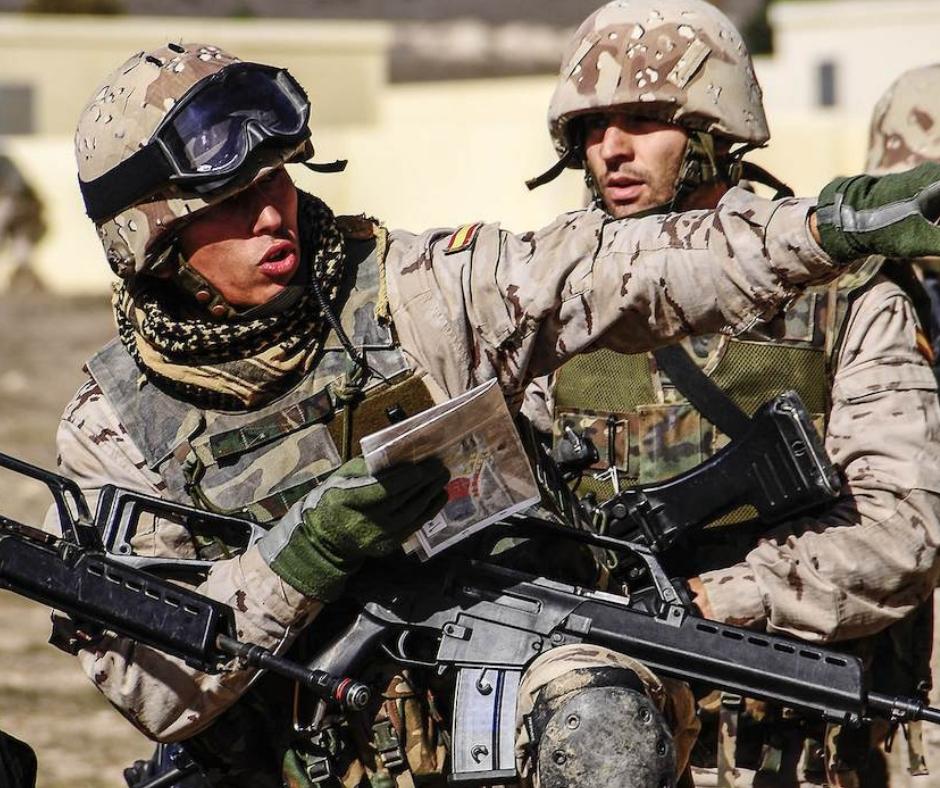 inglés SLP - inglés militar - Infoidioma