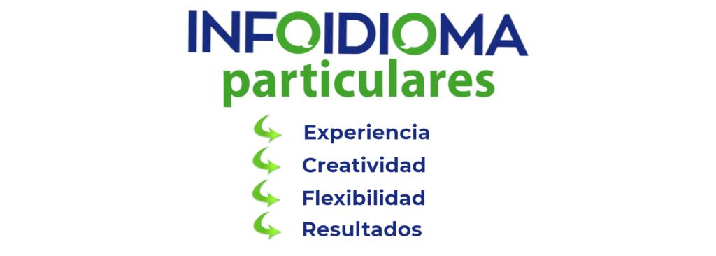 infoidioma para particulares flexibilidad y resultados