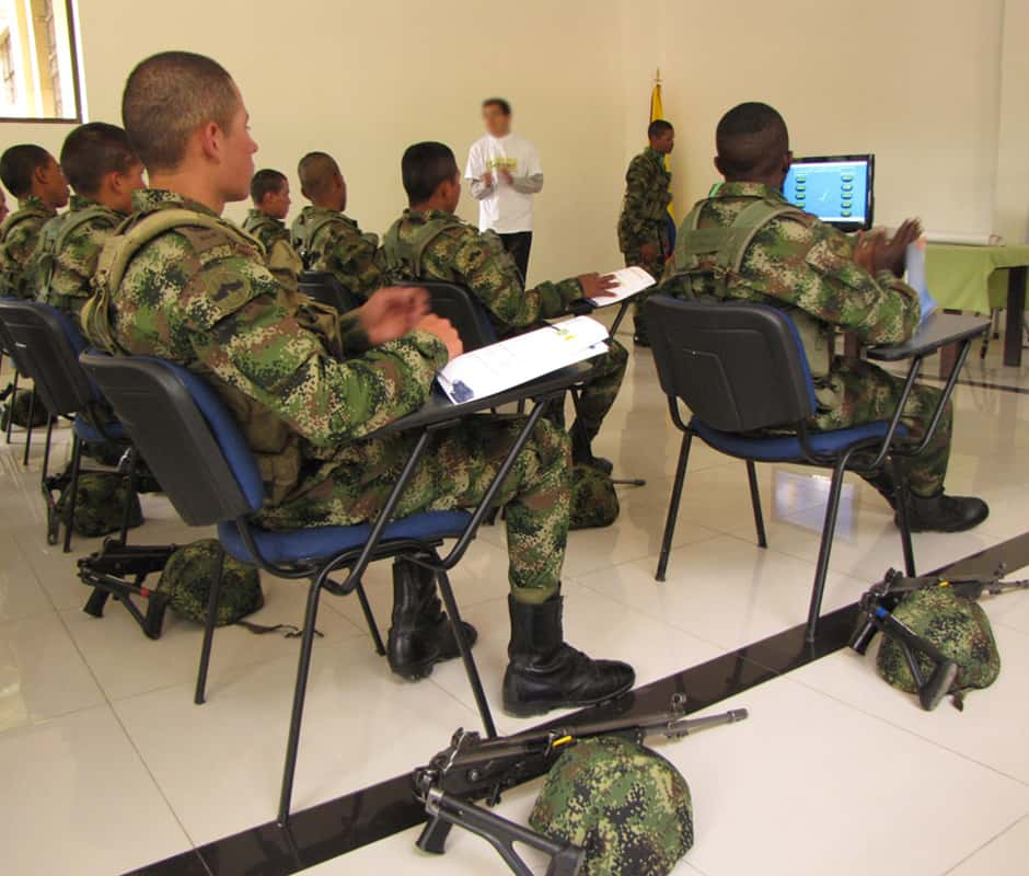 curso de preparacion slp para militares