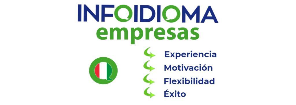 curso de italiano para empresas en infoidioma